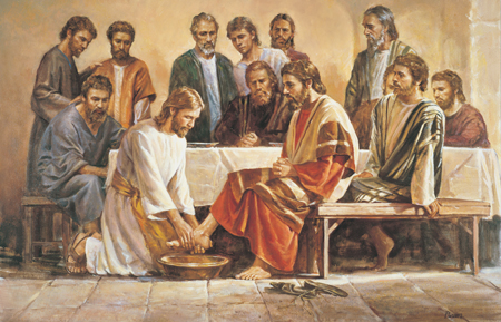 Jesus Washing the Feet of the Apostles