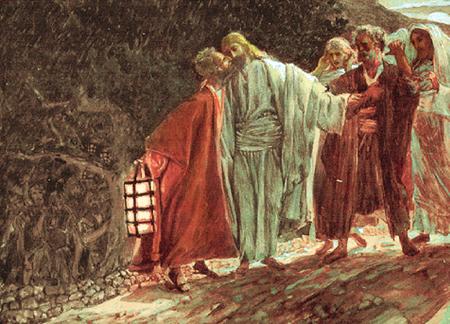 Similiar Judas Kisses Jesus In The Garden Keywords