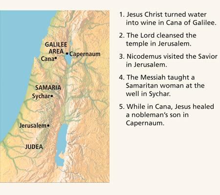 New Testament Student Manual Chapter 22 John 2 4