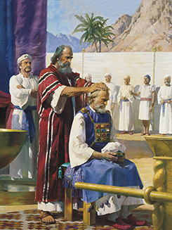 Moses Calls Aaron to the Ministry