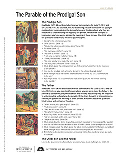 an analysis on the parable of the prodigal son Lent note: huffpost religion invites you to share your lent reflections, experiences, stories and photos with us send them to religion@huffingtonpostcom and check out our lent liveblog who do we find ourselves to be the parable of the prodigal son told in the gospel of st luke 15:1-3, 11b-32.