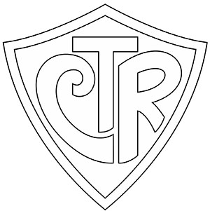 line drawing of CTR logo