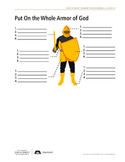 handout, armor of God