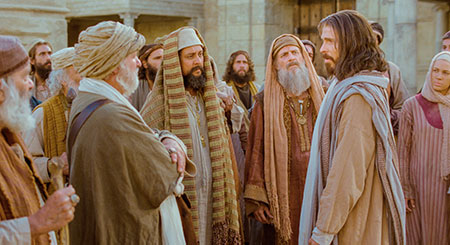 Christ and Pharisees