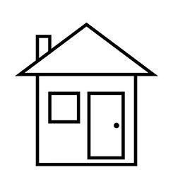 Dessin maison simple - Dessin maison facile ...