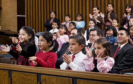 Presentaciones en la reunión sacramental