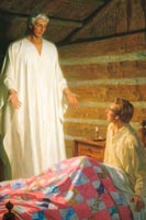 Moroni appears to Joseph Smith