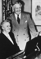 President and Sister McKay.