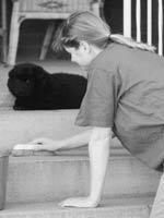 scrubbing steps