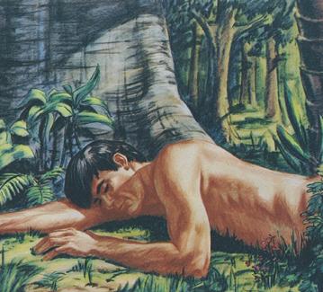 adam god earth makes sleep jesus garden eden lds bible deep testament took slept he ribs name stories chapter flesh