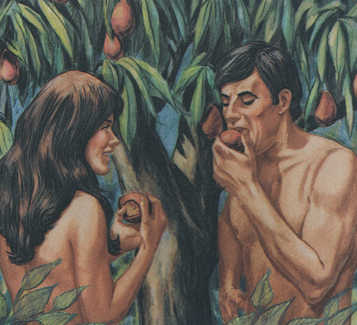 fruit saga games what was the forbidden fruit in the garden of eden