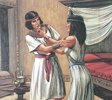 Potiphar's wife and Joseph
