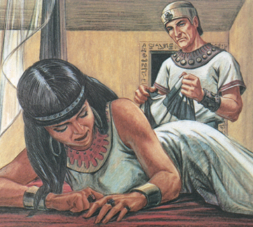 an analysis of the story of joseph and potiphars wife as told in the first book of the bible 2 potiphars wife related media imagine it came about after these events that his master's wife looked with desire at joseph she grew up in the bible belt.