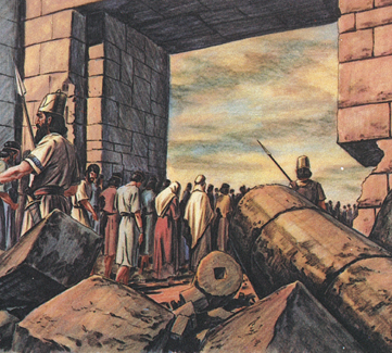Old testament stories chapter 39 the israelites are captured