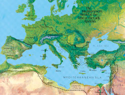 Map of Mediterranean1 Appendix E