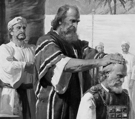Moses ordaining Aaron