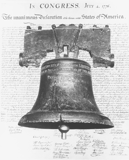 U.S. Constitution and Liberty Bell