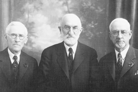 Heber J. Grant and his Counselors