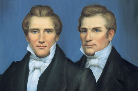 Joseph and Hyrum Smith