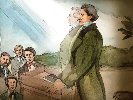 Brigham Young appeared to be Joseph Smith
