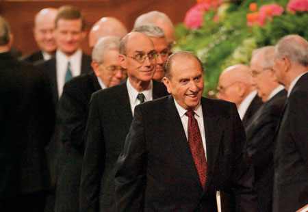President Monson, other General Authorities
