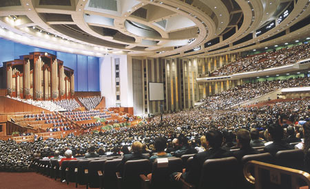 General conference allows members to listen and learn from Church leaders.