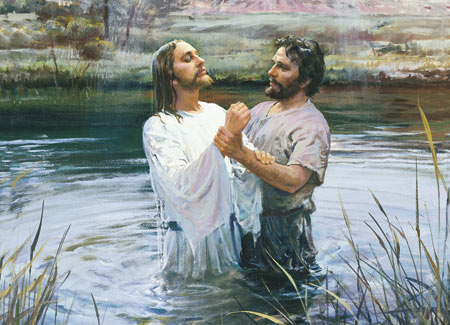 Jesus taught and practiced baptism.
