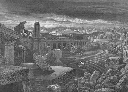 Isaiah's vision of destruction of Babylon
