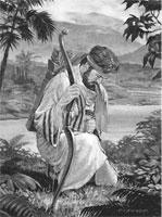 Enos praying