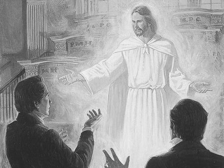 Lord appears in Kirtland Temple