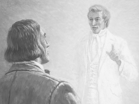 Image result for lds brigham sees joseph in vision