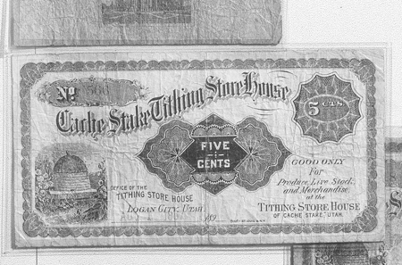 Tithing Certificate