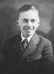 Gordon B. Hinkley as a boy