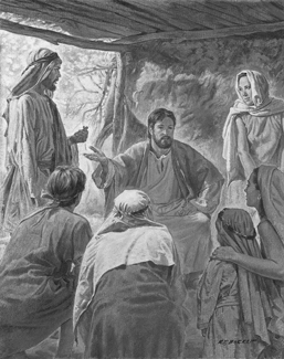 Enoch teaching others