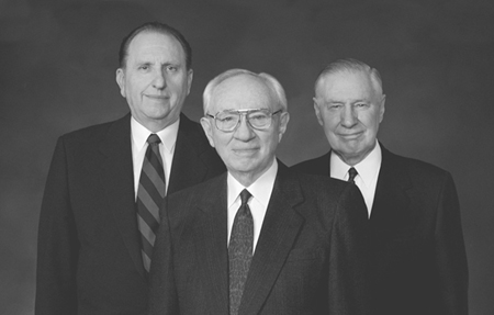 1st Presidency during family proclamation