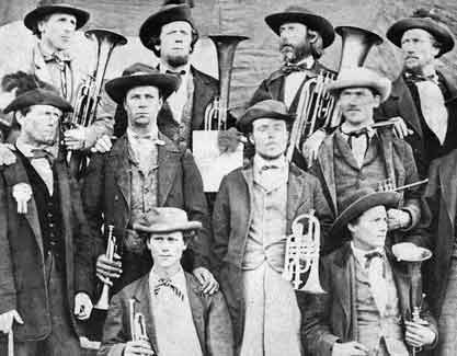 American Fork brass band 1866