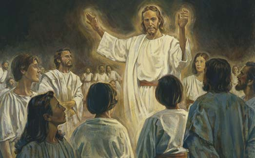 Christ preaching in Spirit World