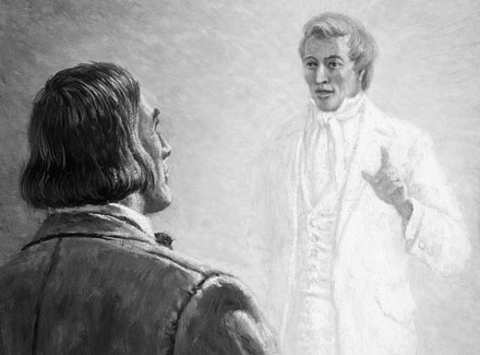 Joseph Smith appearing to Brigham Young