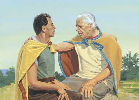 King Benjamin and Mosiah