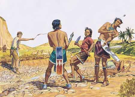 Ammon killing robbers