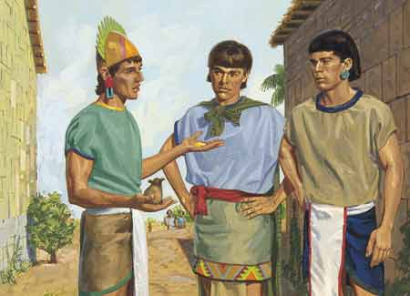 wicked Nephites talking