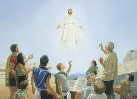 book of mormon stories chapter 43: jesus christ appears to