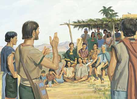 disciples teaching