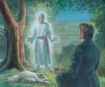 Moroni appearing to Joseph