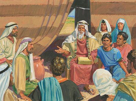 Historias Del Libro De Mormn Captulo 6 El sueo de Lehi