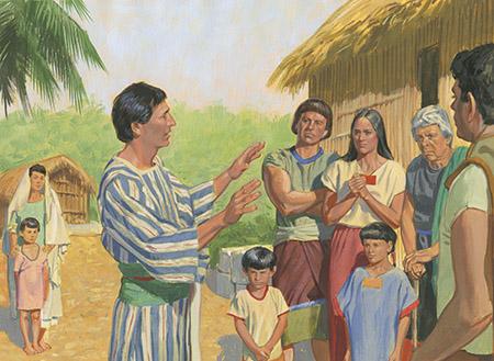 Historias Del Libro De Mormón Capítulo 17: La huida de