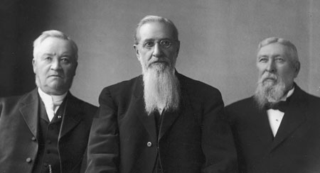 Anthon H. Lund, Joseph F. Smith, John Henry Smith