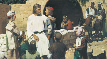 Christ with the Children