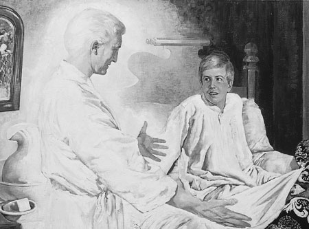 Moroni visits Joseph Smith