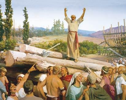 Noah teaching
